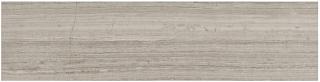 "6""x24"" Strada Mist Veincut Honed Marble Tile 72-602"