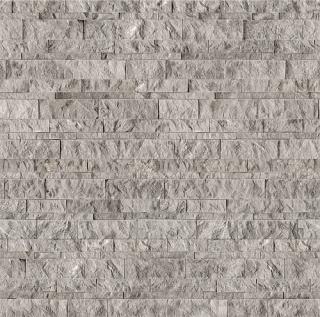 "6""x24"" Ritz Gray Marble Split Face Panel 72-609"