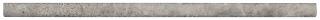 "5/8""x12"" Ritz Gray Polished Marble Mini Pencil Molding 77-422"