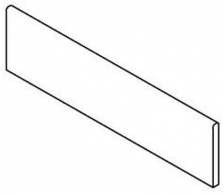 """Imola - 2-3/8""""x24"""" Re_Micron Greige Natural Bullnose"""