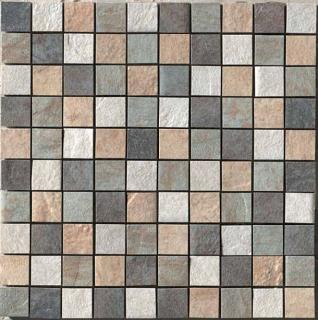 """Happy Floors - 1-1/2""""x1-1/2"""" Eternity Mix Mosaic (12""""x12"""" Sheet)"""