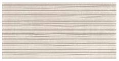 "Acif - 12""x24"" Stonetrace Ivory Deco Wall Tile"