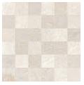 """Acif - 2""""x2"""" Stonetrace Ivory Mosaic Tile (12""""x12"""" Sheet)"""