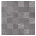 """Acif - 2""""x2"""" Stonetrace Dark Grey Mosaic Tile (12""""x12"""" Sheet)"""