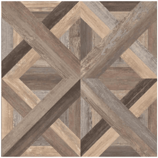 "Florim - 24""x24"" Loft Multicolor Basketweave Porcelain Tile (Recitified Edges)"