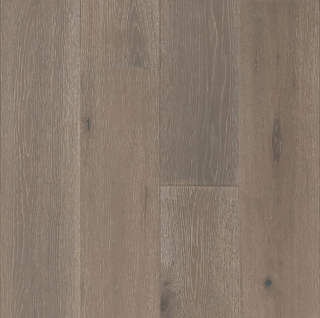 """Hartco - TimberBrushed Gold 1/2"""" thick x 7-1/2"""" wide Breezy Point White Oak Engineered Hardwood Flooring"""