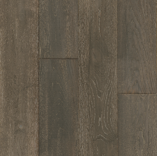 """Hartco - TimberBrushed Gold 1/2"""" thick x 7-1/2"""" wide Limed Industrial Style White Oak Engineered Hardwood Flooring"""