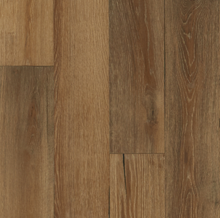 """Hartco - TimberBrushed Gold 1/2"""" thick x 7-1/2"""" wide Golden Timber White Oak Engineered Hardwood Flooring"""
