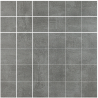 "Happy Floors - 2""x2"" Baltimore Gris Mosaic (12""x12"" Sheet)"
