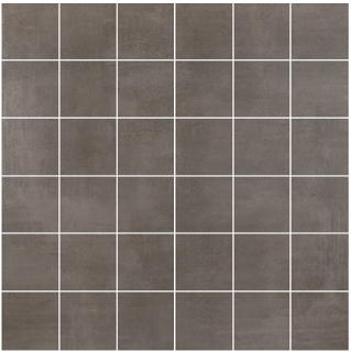 "Happy Floors - 2""x2"" Baltimore Taupe Mosaic (12""x12"" Sheet)"
