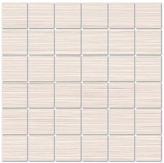 "Mediterranea - 2""x2"" Loom Cotton Porcelain Mosaic Tile"