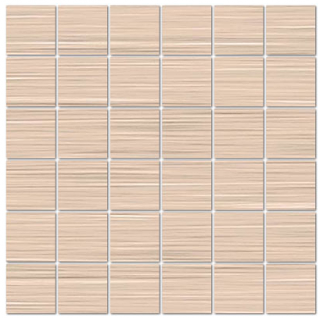 "Mediterranea - 2""x2"" Loom Wool Porcelain Mosaic Tile"
