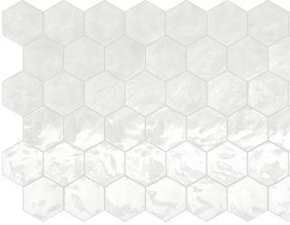 """Terratinta - 6"""" Hexa Lemon Sorbet Hexagon Glossy Wall Tile TTHXW05G"""