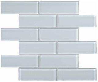 """Anatolia - 2""""x6"""" Bliss Element Skylight Brick Glass Mosaic Tile 35-090"""