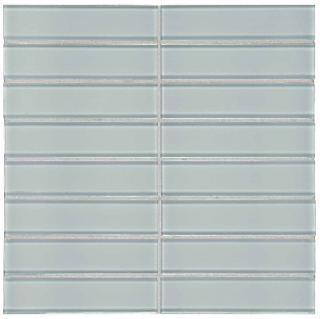 "Anatolia - 1-1/2""x6"" Bliss Element Cloud Stacked Glass Mosaic Tile 35-119"