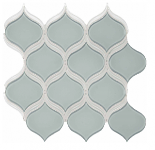 Anatolia - Bliss Element Cloud Arabesque Glass Mosaic Tile 35-140