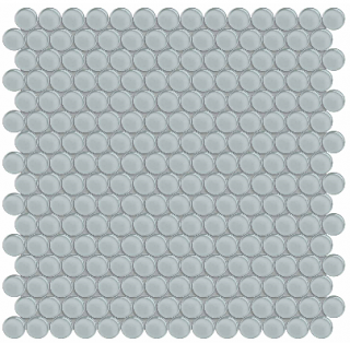 Anatolia - Bliss Element Cloud Penny Round Glass Mosaic 35-103
