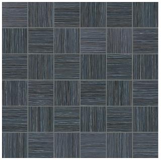 """Anatolia - 2""""x2"""" Zera Annex Carbon Mosaic Tile 69-322 (12""""x12"""" Sheet)"""