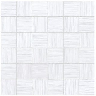 "Anatolia - 2""x2"" Zera Annex Bianco Mosaic Tile 69-323 (12""x12"" Sheet)"