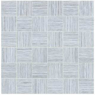 "Anatolia - 2""x2"" Zera Annex Silver Mosaic Tile 69-324 (12""x12"" Sheet)"