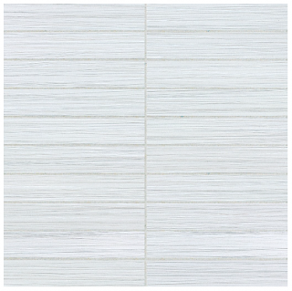 """Anatolia - 1""""x6"""" Zera Annex Oyster Stacked Mosaic Tile 69-151 (12""""x12"""" Sheet)"""