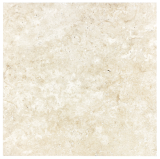 "16""x16"" Ivory Travertine Straight Edge & Brushed Tile 73-547"