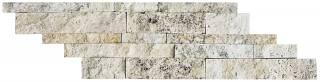 "Anatolia - 6""x24"" Picasso Travertine Split Face Cambria Strip 76-302"