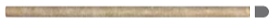 "5/8""x12"" Noce Travertine Honed Mini Pencil 77-309"