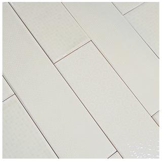 """Studio S - 3""""x12"""" Caress Hush Creme Mixed Decos Wall Tile"""