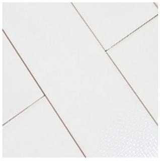 "Studio S - 3""x12"" Caress Chalk White Mixed Decos Wall Tile"