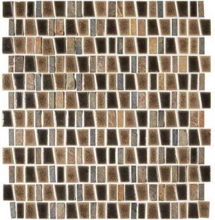 "Marazzi - Midpark Bark 1""xRandom Trapezoid Mosaic Tile (12""x12"" Sheet)"