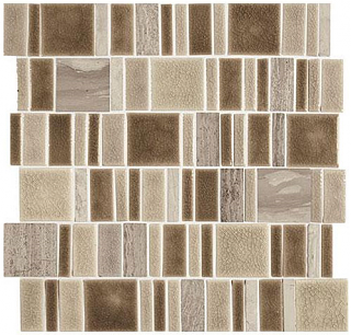 "Marazzi - Midpark Sandbox 2""xRandom Square Mosaic Tile (13""x13"" Sheet)"