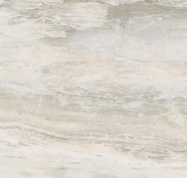 """Florim/Milestone - 12""""x12"""" Breccia White Polished Tile (Rectified Edges)"""