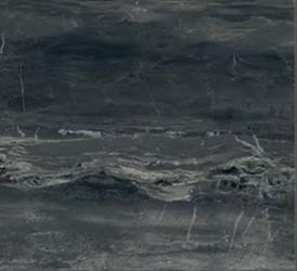 "Florim/Milestone - 12""x12"" Breccia Noir Polished Tile (Rectified Edges)"