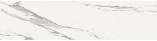"Vallelunga - 3""x12"" Statuario Porcelain Tile (Rectified Edges)"