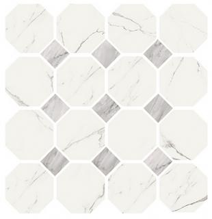 "Vallelunga - 4""x8"" Statuario Provenzale Porcelain Tile"