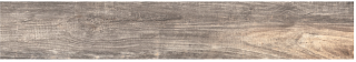 "Happy Floors - 6-1/2""x40"" Reclaimed Ashen Porcelain Tile 7270-C (Rectified Edges)"