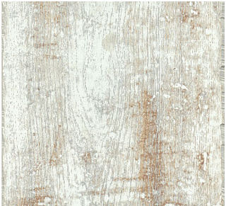 """Armstrong - 6.6""""x47.56"""" PRYZM White Salvaged Plank Rigid Core Luxury Vinyl Tile PC001"""