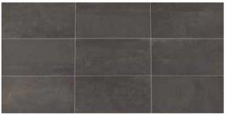 """American Olean - 24""""x48"""" Union Black Nickel Porcelain Tile UN05"""