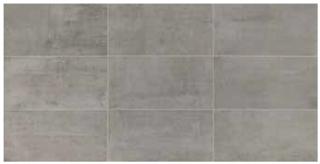 """American Olean - 12""""x24"""" Union Industrial Gray Porcelain Tile UN03"""