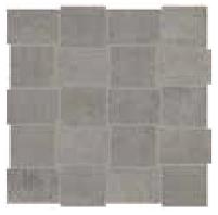 "American Olean - 2""x3"" Union Industrial Gray Modern Weave Mosaic Tile UN03"