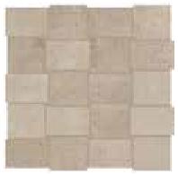 "American Olean - 2""x3"" Union Weathered Beige Modern Weave Mosaic Tile UN02"