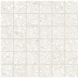 """Anatolia - 2""""x2"""" Station Ivory Porcelain Mosaic Tile 63-666"""