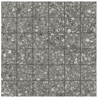 "Anatolia - 2""x2"" Station Shadow Porcelain Mosaic Tile 63-669"