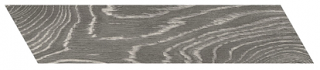 "Interceramic - 3""x13-1/2"" Artisanwood Dark Ash Chevron LEFT Tile"