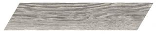 "Interceramic - 3""x13-1/2"" Artisanwood Dark Ash Chevron RIGHT Tile"