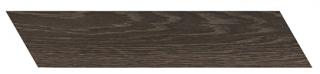 "Interceramic - 3""x13-1/2"" Artisanwood Deep Umber Chevron LEFT Tile"