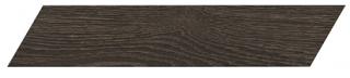 "Interceramic - 3""x13-1/2"" Artisanwood Deep Umber Chevron RIGHT Tile"