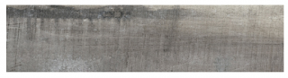 "Interceramic - 7-1/2""x47"" Amazonia Bahi Grey Porcelain Tile (Rectified Edges)"