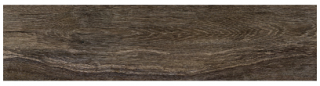 "Interceramic - 7-1/2""x47"" Amazonia Oiba Brown Porcelain Tile (Rectified Edges)"